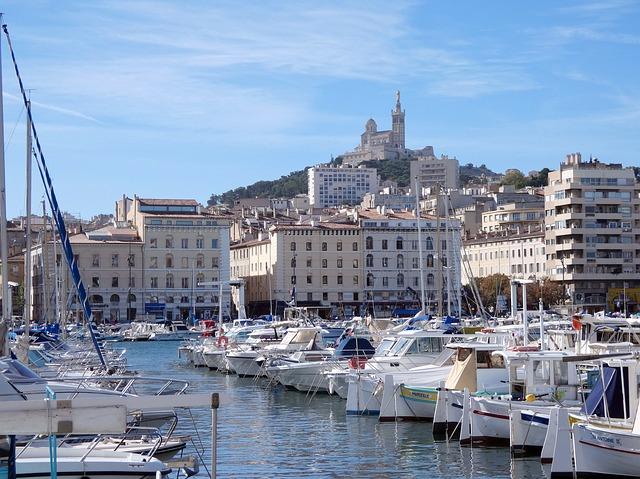 S'installer à Marseille : le Vieux-Port